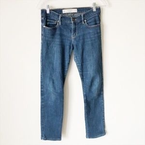 Abercrombie & Fitch Erin Straight Leg Jeans